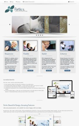 Fortis Cafe Website Template