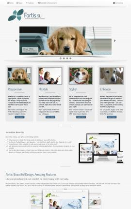 Fortis Dogs Website Template