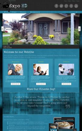 Expo Real-estate Website Template