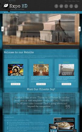 Expo Religion Web Template
