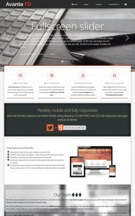 Avante Accounting Website Template