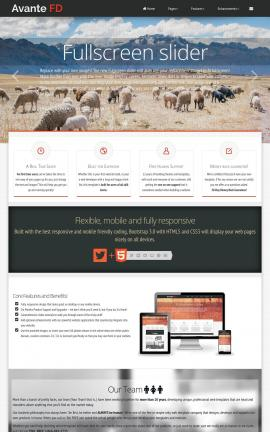 Avante Agriculture Website Template