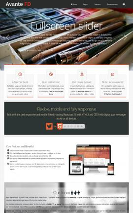 Avante Art-supplies Website Template