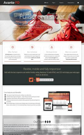 Avante Basketball Website Template