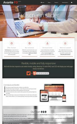 Avante Business Website Template