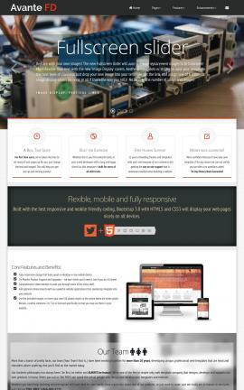 Avante Computers Website Template