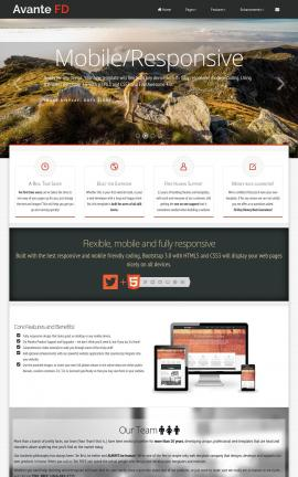 Avante Dogs Website Template