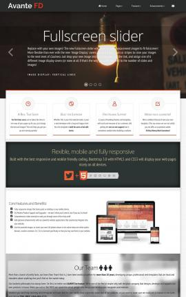 Avante Electrical Website Template