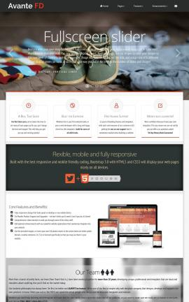 Avante Family Website Template