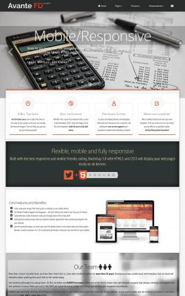 Avante Insurance Website Template
