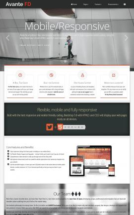 Avante Janitorial Website Template