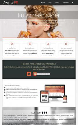 Avante Makeup-artist Website Template