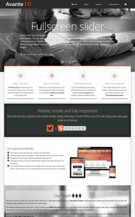 Avante Martial-arts Website Template