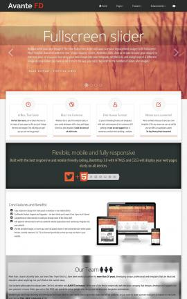 Avante Multi-purpose Dreamweaver Template