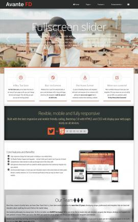 Avante Photography Website Template