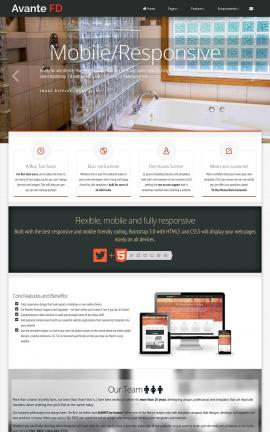 Avante Plumbing Website Template