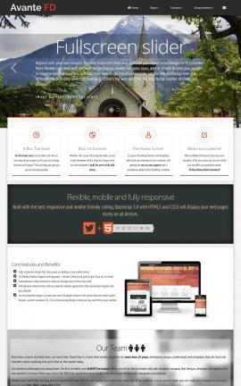 Avante Religion Website Template
