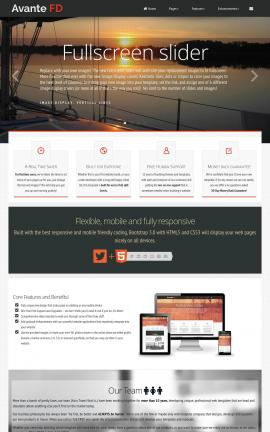 Avante Sailing Website Template