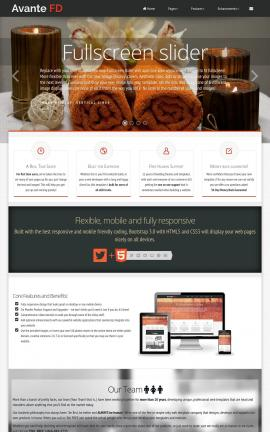 Avante Spa Website Template