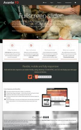 Avante Veterinarian Website Template