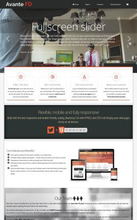 Avante Videography Website Template