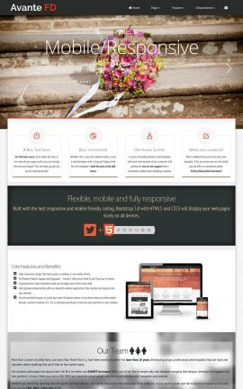 Avante Wedding Website Template