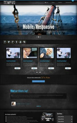 Tempus Boating Website Template