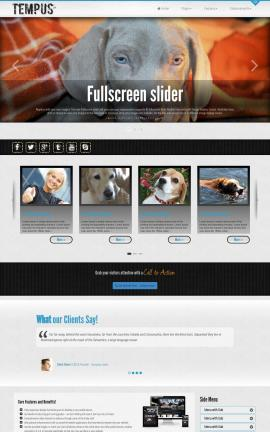 Tempus Dogs Website Template