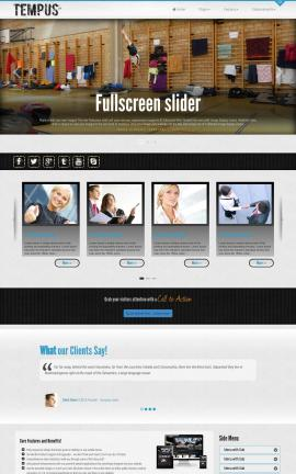 Tempus Gymnastics Dreamweaver Template