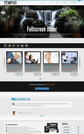 Tempus Multi-purpose Dreamweaver Template