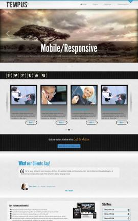 Tempus Nature Website Template