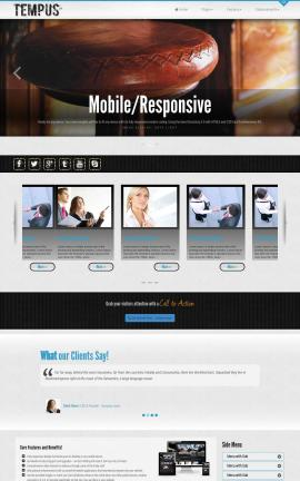 Tempus Pub Website Template