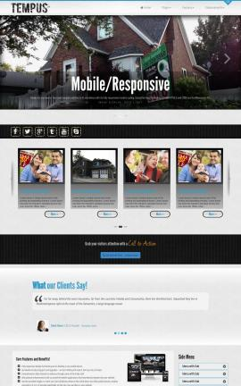 Tempus Real-estate Website Template
