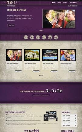 Portico Real-estate Website Template
