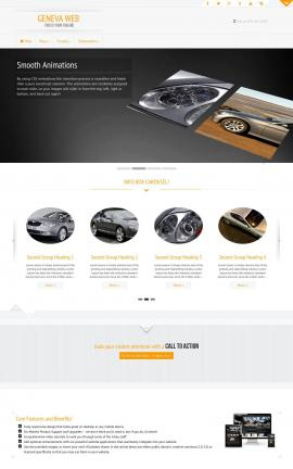 Geneva Automobile Website Template
