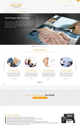 Geneva Business Website Template