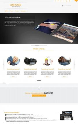 Geneva Construction Website Template