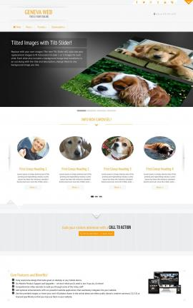 Geneva Dogs Website Template