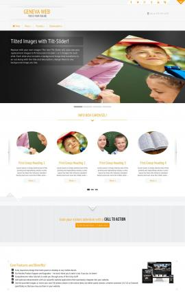 Geneva Education Website Template