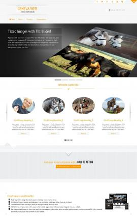 Geneva Equestrian Website Template