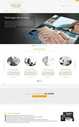 Geneva Insurance Website Template