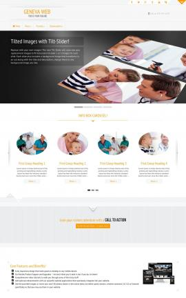 Geneva Medical Website Template