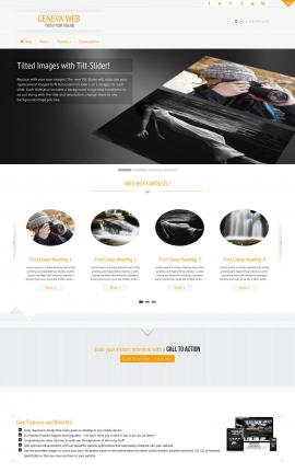 Geneva Photography Website Template