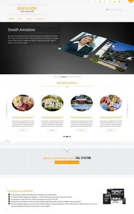 Geneva Real-estate Website Template