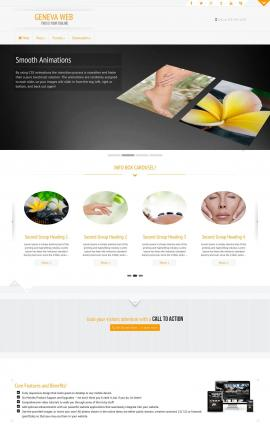 Geneva Spa Website Template