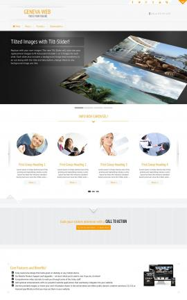 Geneva Travel Website Template