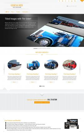 Geneva Trucking Website Template