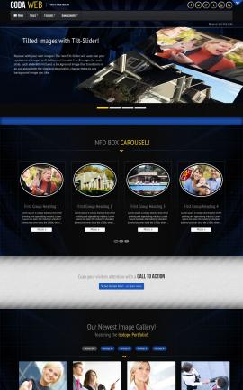Coda Real-estate Website Template