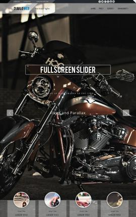 Diavlo Motorcycle Dreamweaver Template