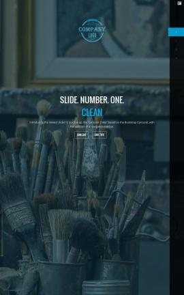 Onyx Art-supplies Website Template